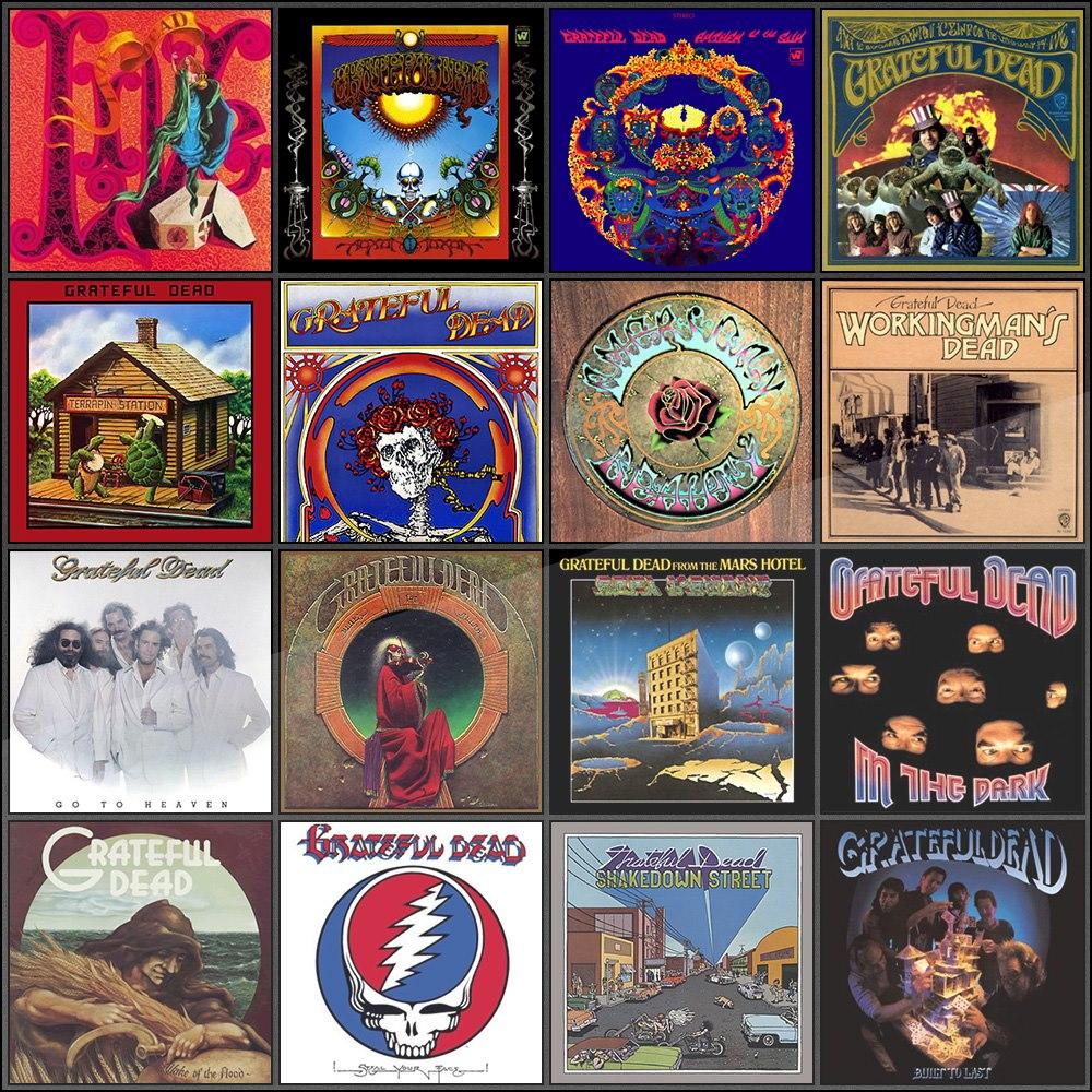 Grateful Dead Album Ar...