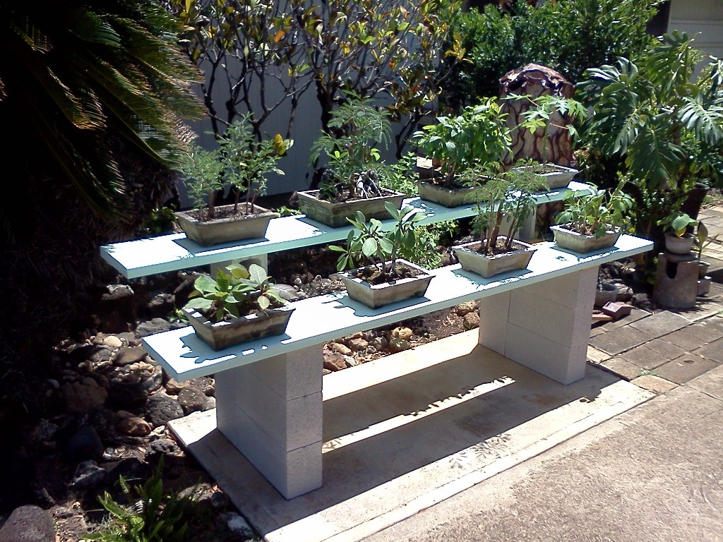 How To Make Display And Growing Benches And Shelves